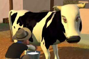 Canción infantil señora vaca